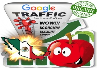 Mexican Search Traffic from Google.com.mx with your Keywords