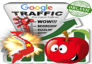 Vietnamese Search Traffic from Google.com.vn with your Keywords
