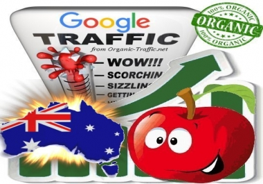 Australian Search Traffic from Google.com.au with your Keywords