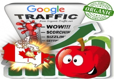 Canadian Search Traffic via Google.ca by Keyword