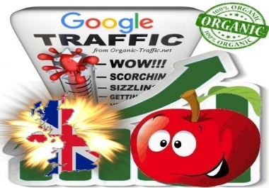 British Search Traffic from Google.co.uk with your Keywords
