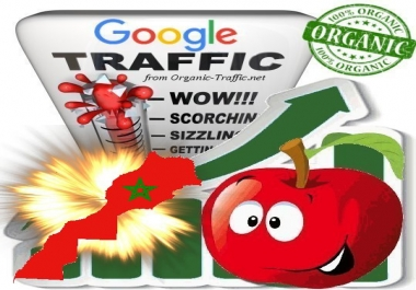 Moroccan Search Traffic from Google.co.ma with your Keywords