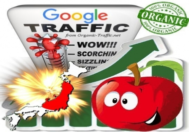 Japanese Search Traffic from Google.co.jp with your Keywords
