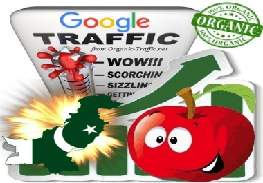 Pakistanian Search Traffic from Google.com.pk with your Keyword