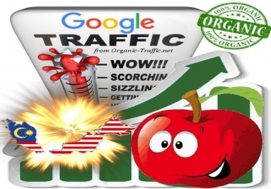 Malayan Search Traffic from Google.com.my with your Keywords