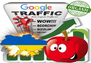 Ukrainian Search Traffic from Google.com.ua with your Keywords