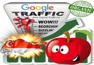Singaporean Search Traffic from Google.com.sg with your Keywords
