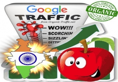 Indian Search Traffic from Google.co.in with your Keywords