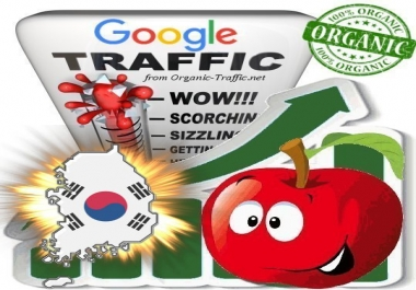 South Korean Search Traffic from Google.co.kr with your Keywords