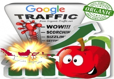 Indonesian Search Traffic from Google.co.id with your Keywords