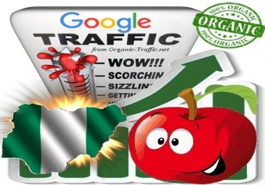 Nigerian Search Traffic from Google.com.ng with your Keywords