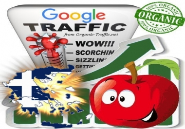 Greek Search Traffic from Google.gr with your Keywords