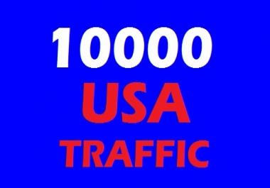 10000 USA Web Traffic for 10 days