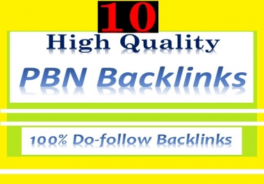 Manage 10 Dofollow Quality High TF CF PA DA HomePage PBN Backlinks for website ranking