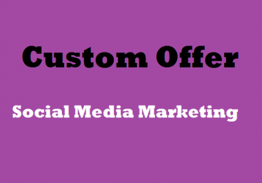 Custom Real Promotional Offer for Spacial Seoclerks Clients