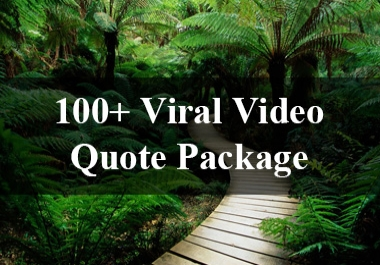 Viral Video Quote Package with Private Label Right