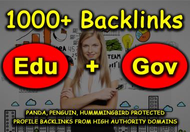 Create 1000 High DA Edu Backlink To Your Money Website