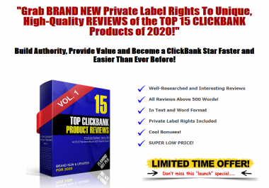 2020 High Converting Top ClickBank Product Reviews