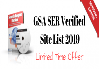 GSA SER Verified Site List For 1 Year