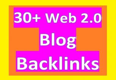 Provide 30 High PR Blog article BACKLINGS for Your Websites