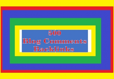 Provide 500+ Blog or Image BACKLINGS for Your Websites