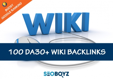 Quality Wiki Backlinks to Boost Google ranking