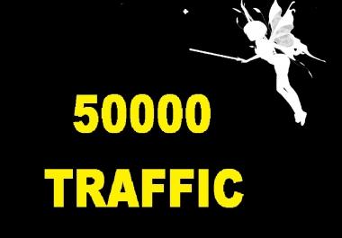 50000 Human Organic real Traffic visits hits with live analysis