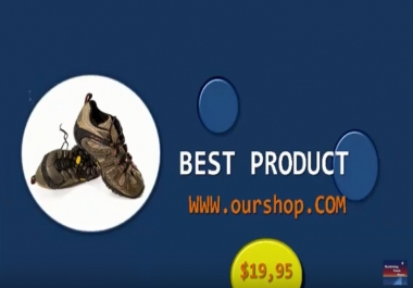 I will create product promotion video