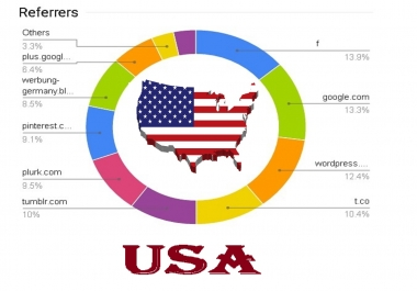 send USA High quality real human TRAFFIC with live Statistics Analytics