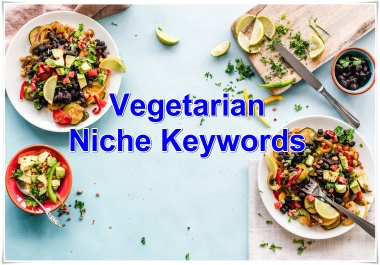 Niche keywords research Vegetarian 2019 Instant Download