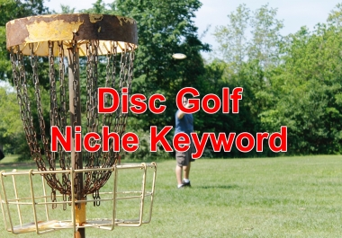 Niche keywords research Disc Golf 2020 Instant Download