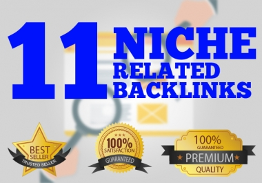 Give you 11 do follow niche relevant links