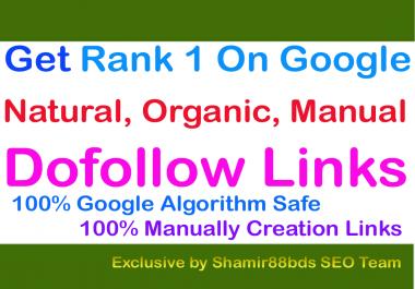 Unique 500 DA30-100 Best Dofollow Links To Rank 1 On Google