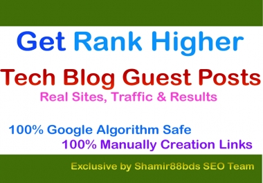 DA27 Tech Blogs That Accept Guest Posts to Rank Higher