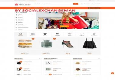 Online Marketplace Multi Vendors DropShipping Commerce WebSite