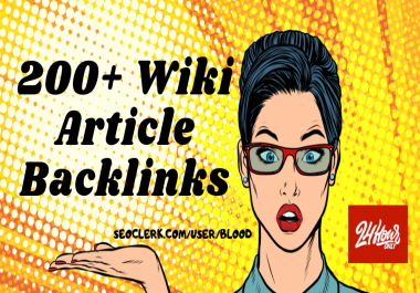 Create 200+ High Authority Wiki Article Links in 24 Hours
