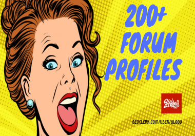 Power Up Your Tier 2 with 200+ Forum Profile Links