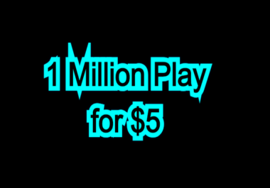 Get high retention audio music 1,000,000 Play,85 LlKES, 39 Rep0st and 5 C0mments