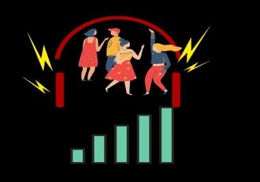 Best Organic Audio Music Promotion Service