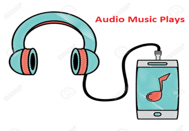 Get 5000 Audio Music Play,120 Like 80 Rep0st and 25 Comments