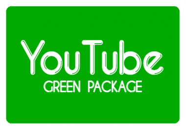 YouTube Video Promotion - Green
