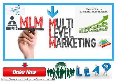 Share your mlm or prelaunch mlm website over 50K mlm business seekers for traffic/ leads generation
