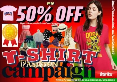 advertise t-shirt store,t shirt clothing brand,female fashion blog,gym,yoga apparel design traffic