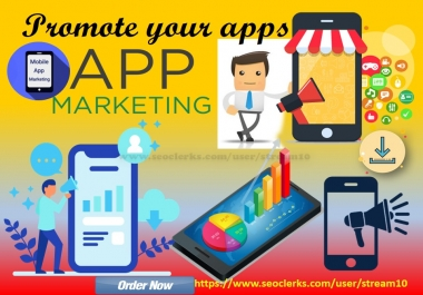Promote your app or newly developed apps, games,websites over 500K apps lover