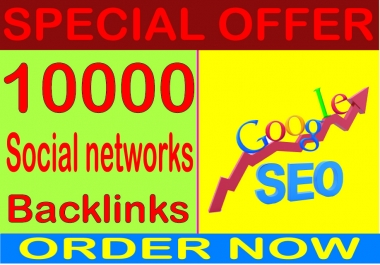 Top SEO Rank- Boost Site Alexa Rank 10000 with Social Networks backlinks