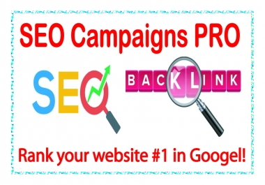SEO Campaigns PRO-High Metrics NICHE Relevant Quality Links