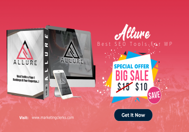 Allure - Viral Traffic and Page 1 Ranking at Your Fingertips