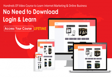 iCourse - Online eCourse Membership to Learn Internet Marketing & Online Business