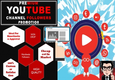 Real HQ Channel Promotions Pack Social Media Marketing