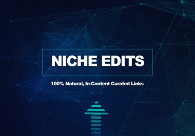 Outreach Links On Real Websites - Quality Curated Link (Niche Edits)